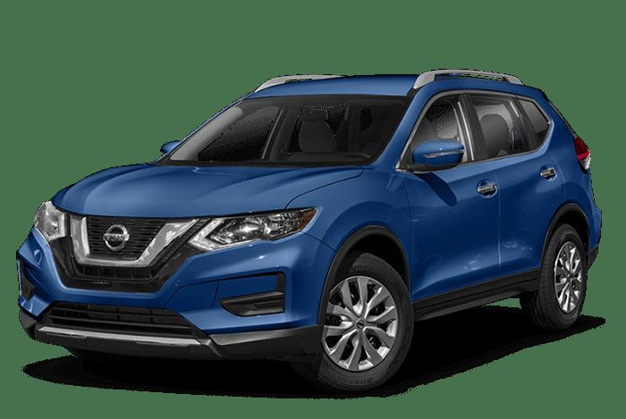 2019 Nissan Rogue in Caspian Blue Metallic