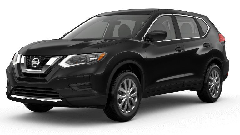 2020 Nissan Rogue S in Black