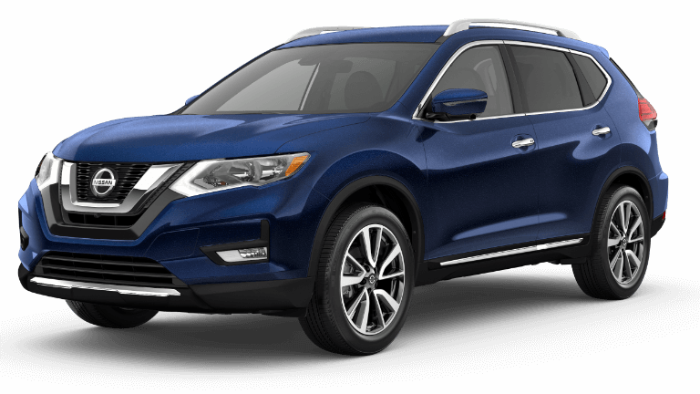 2020 Nissan Rogue SL in Blue