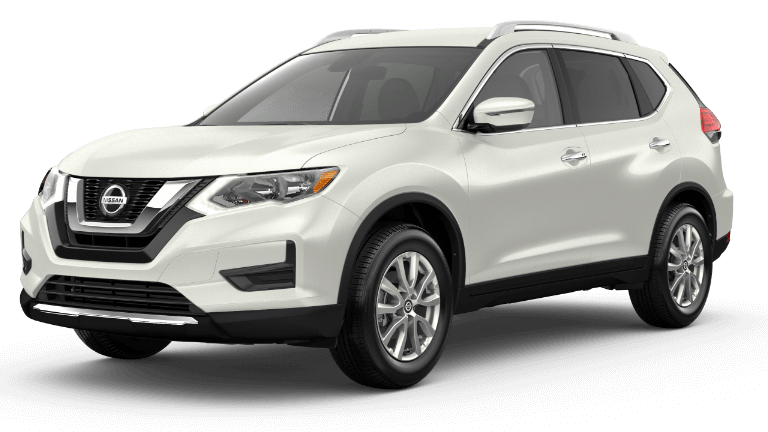 2020 Nissan Rogue SV in white