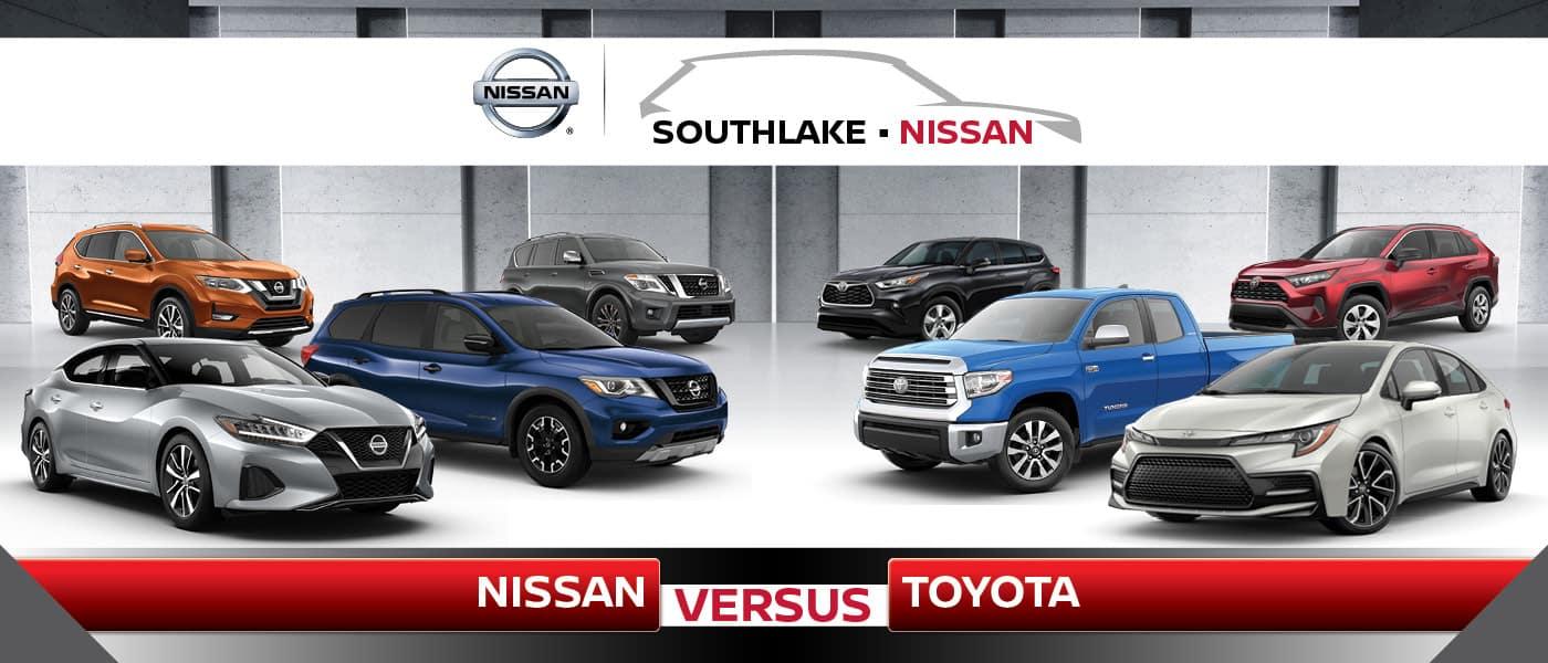 Nissan vs. Toyota