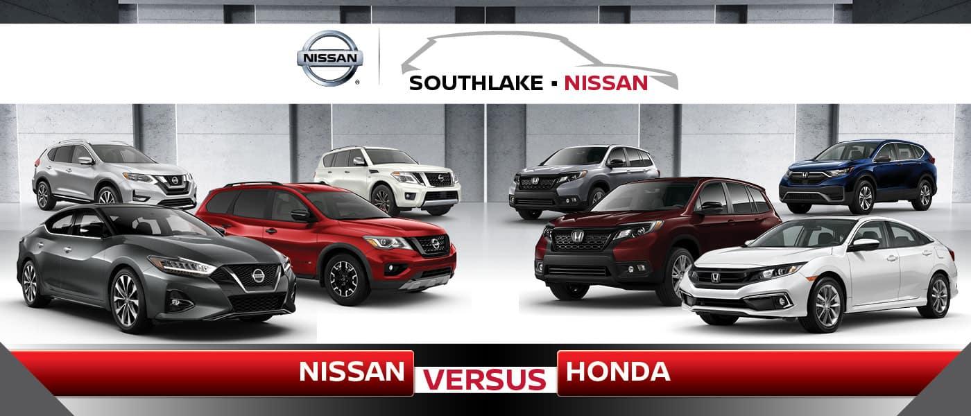 Nissan vs. honda