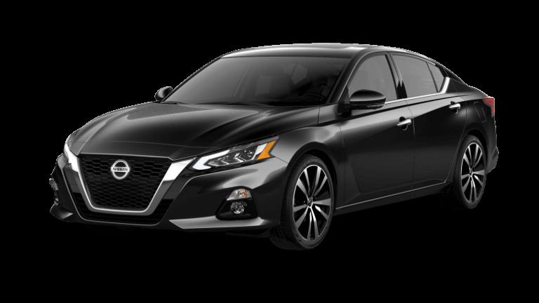 2021 Nissan Altima in black