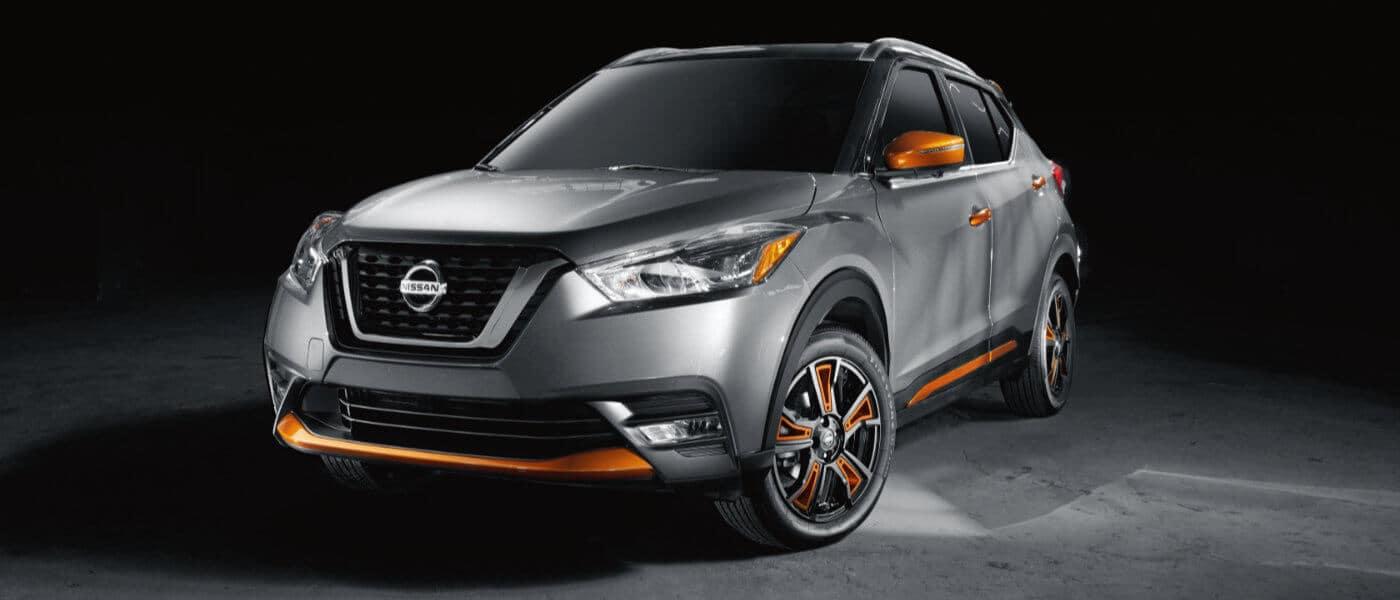 2020 Nissan Kicks Exterior parked in Dark Room