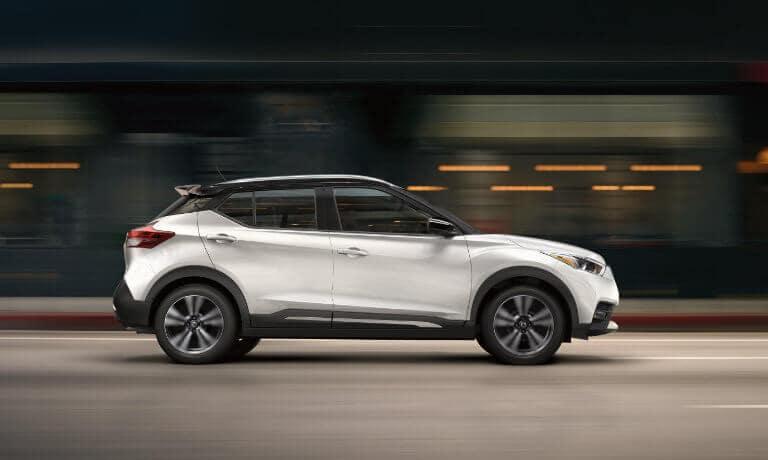 2020 Nissan Kicks Exterior Driving Fast