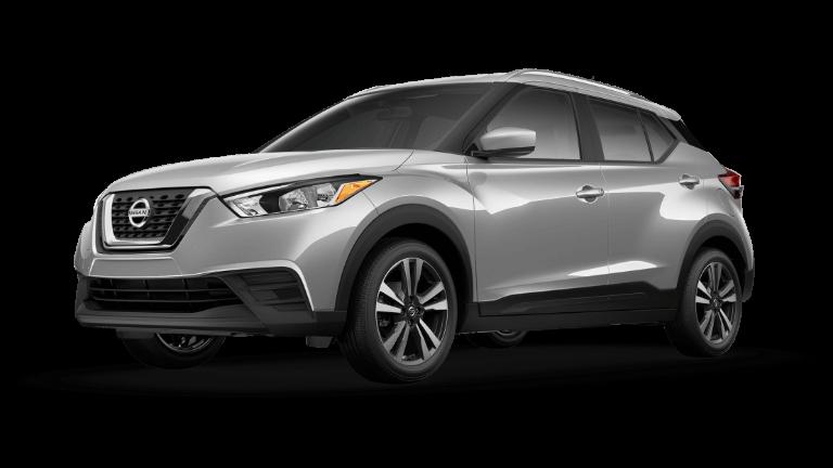 2020 Nissan Kicks SV Brilliant Silver
