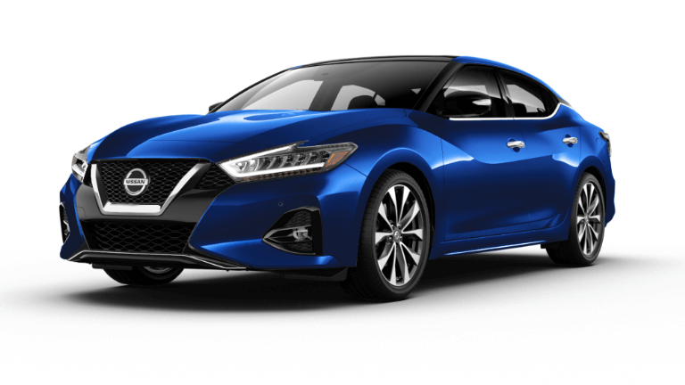 2020 Nissan Maxima in blue