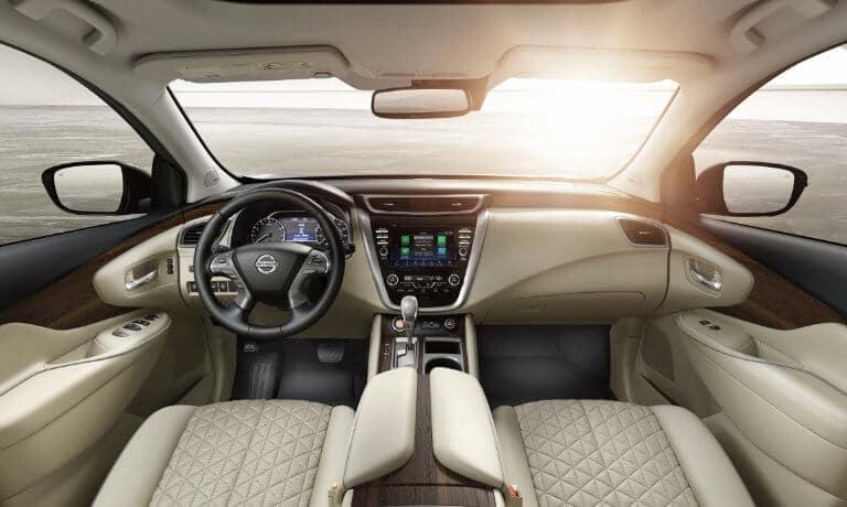 2020 Nissan Murano Interior Front dashboard view