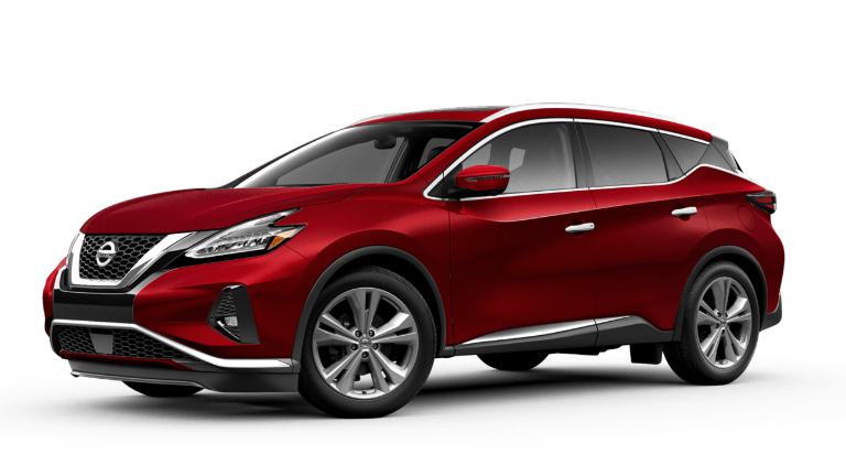 2019 Nissan Murano Platinum in cayenneRed