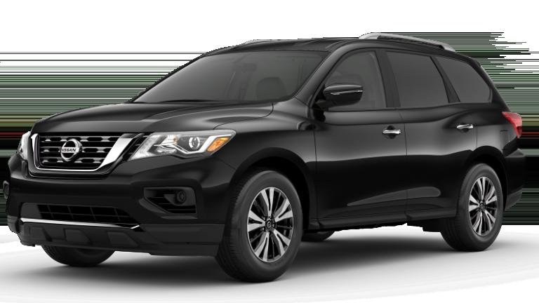2020 Nissan Pathfinder in black