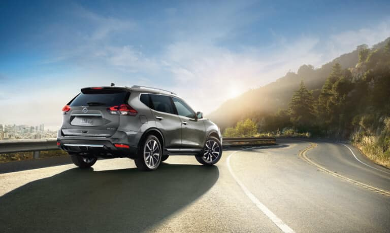 2020 Nissan Rogue Exterior Parked On A Highway Outside The City