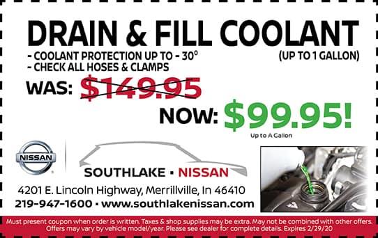 Drain & Fill Coolant