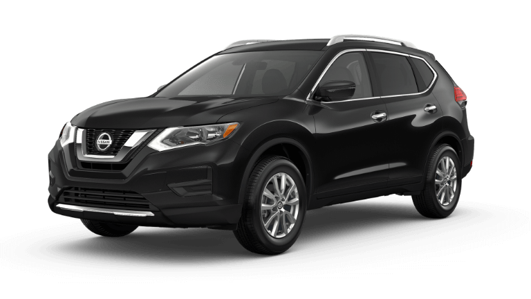 2020 Nissan Rogue SV in magnetic black