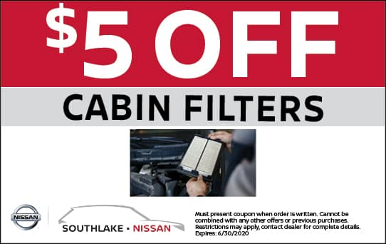 $5 Off Cabin Filters