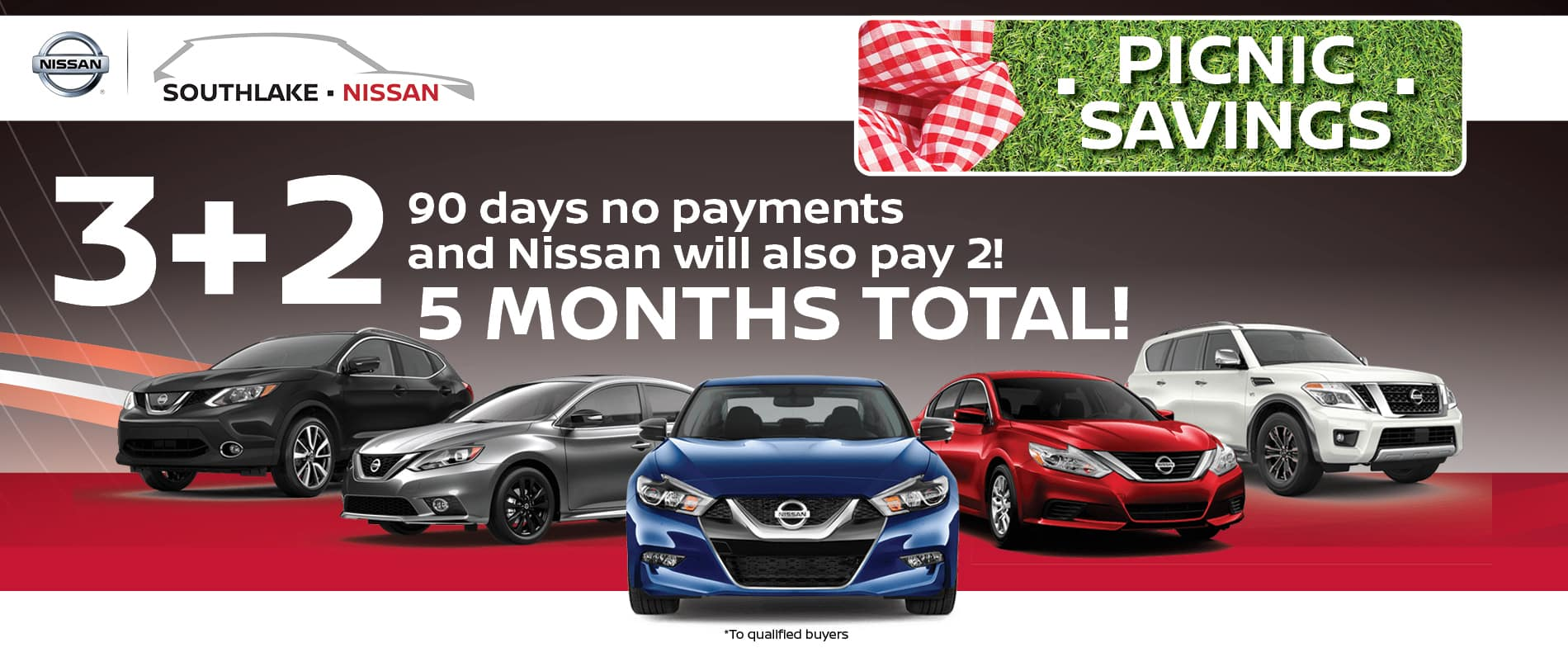 3+2 90 Day No Payments