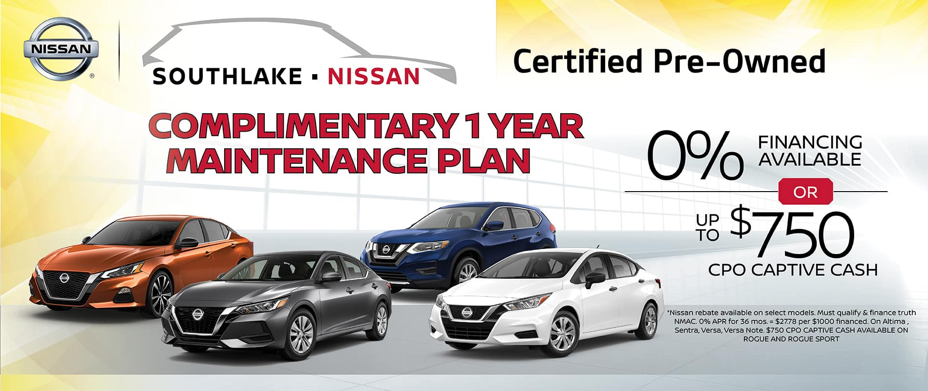 Complimentary 1 Year Maintenance Plan
