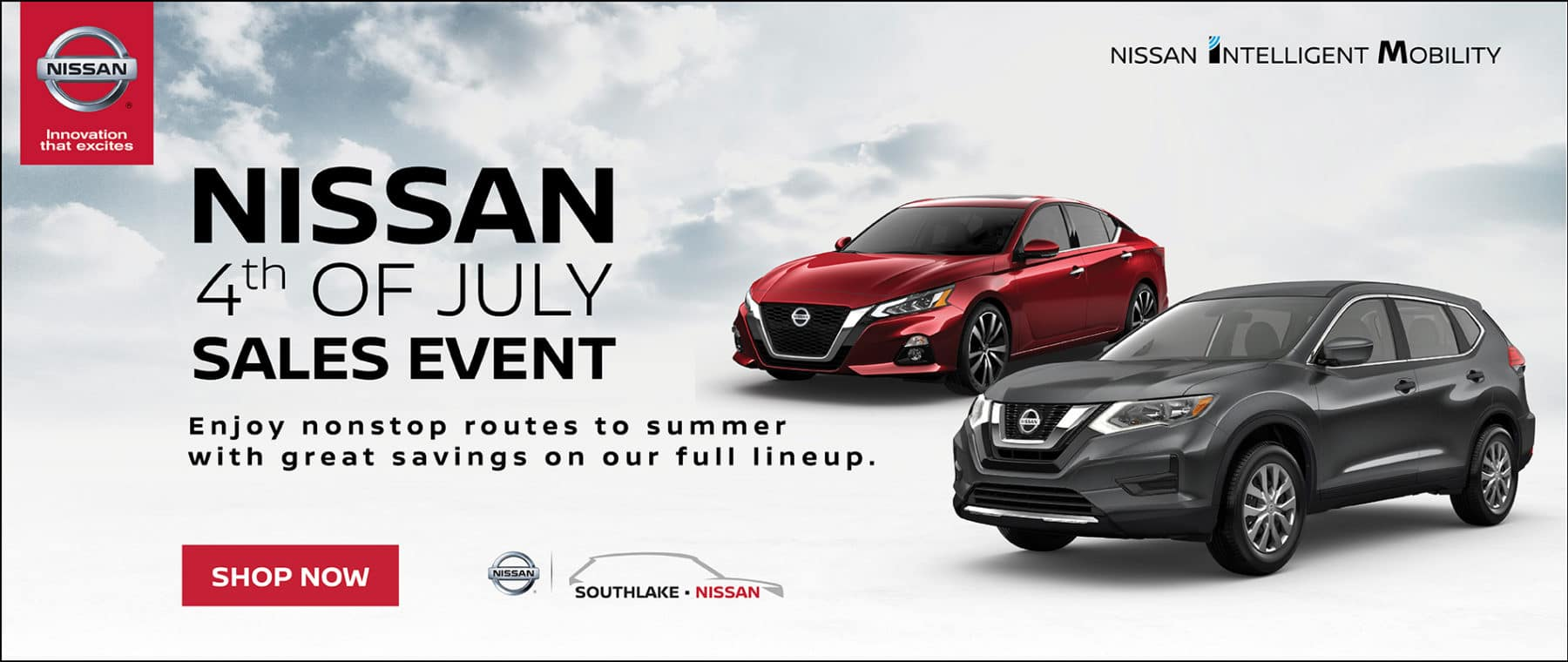 Nissan 4th of July Sales Event | Soutlhlake Nissan