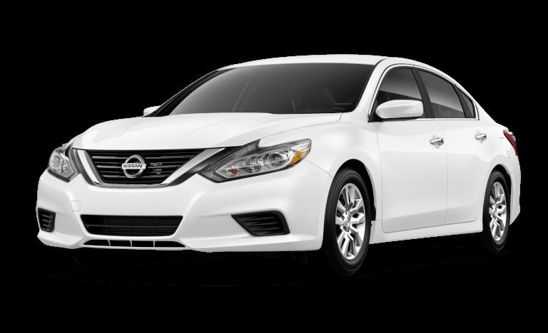 2017 Nissan Altima in white