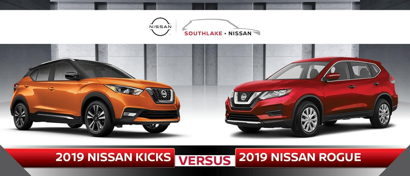 2019 Nissan Kicks vs. 2019 Nissan Rogue