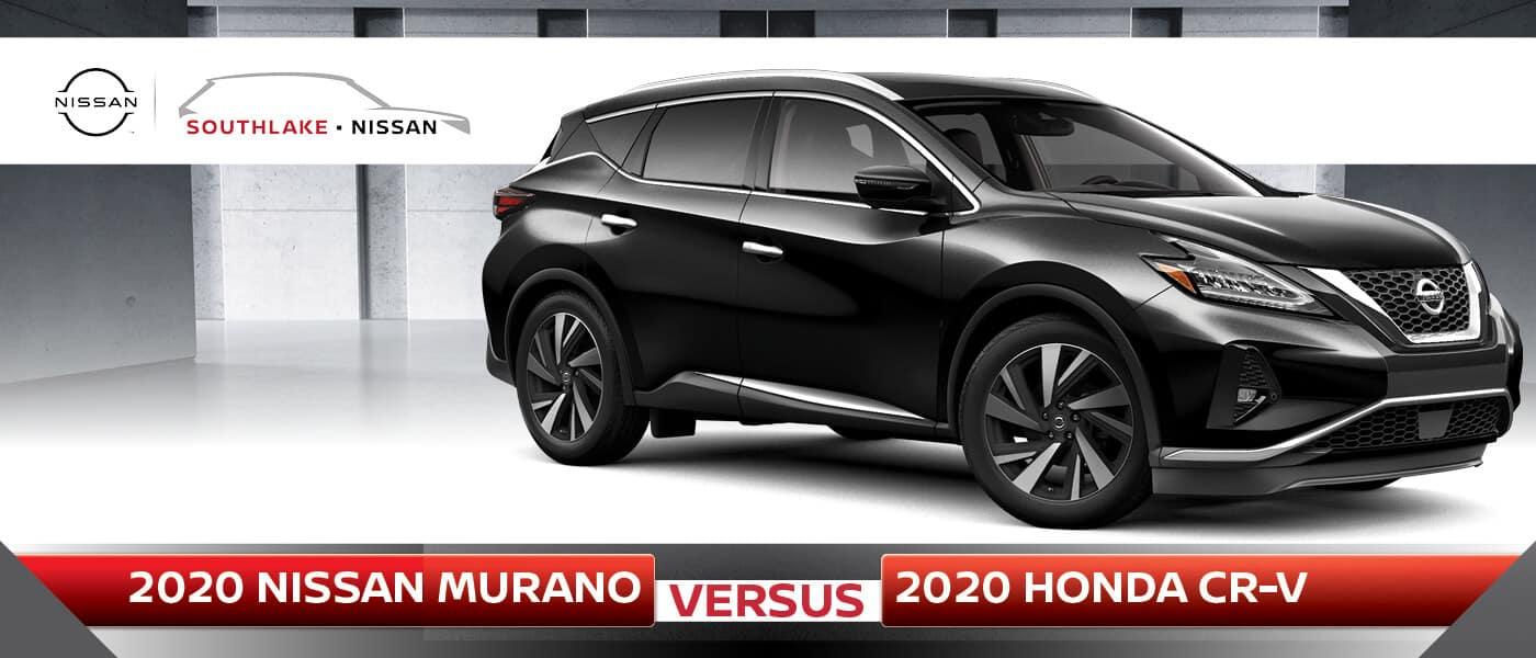2020 Nissan Murano vs. 2020 Honda CR-V