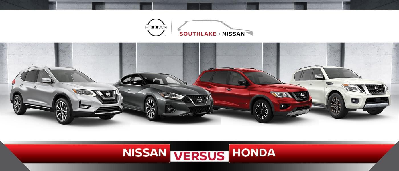 Nissan vs Honda