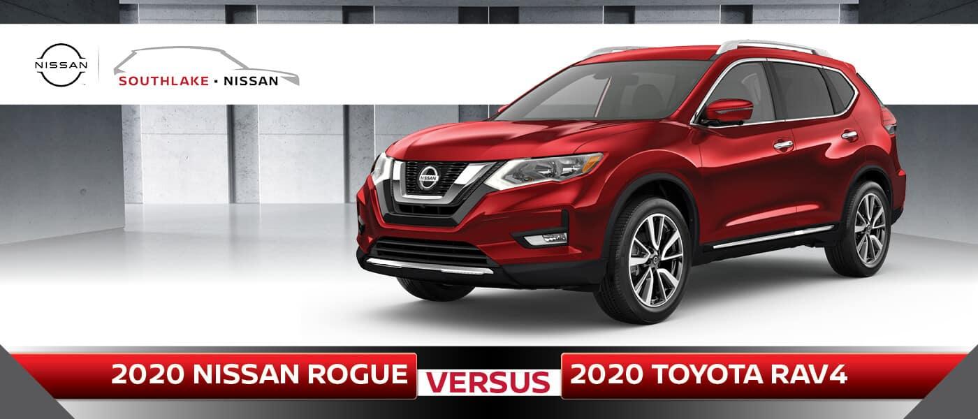 2020 Nissan Rogue vs. 2020 Toyota RAV4