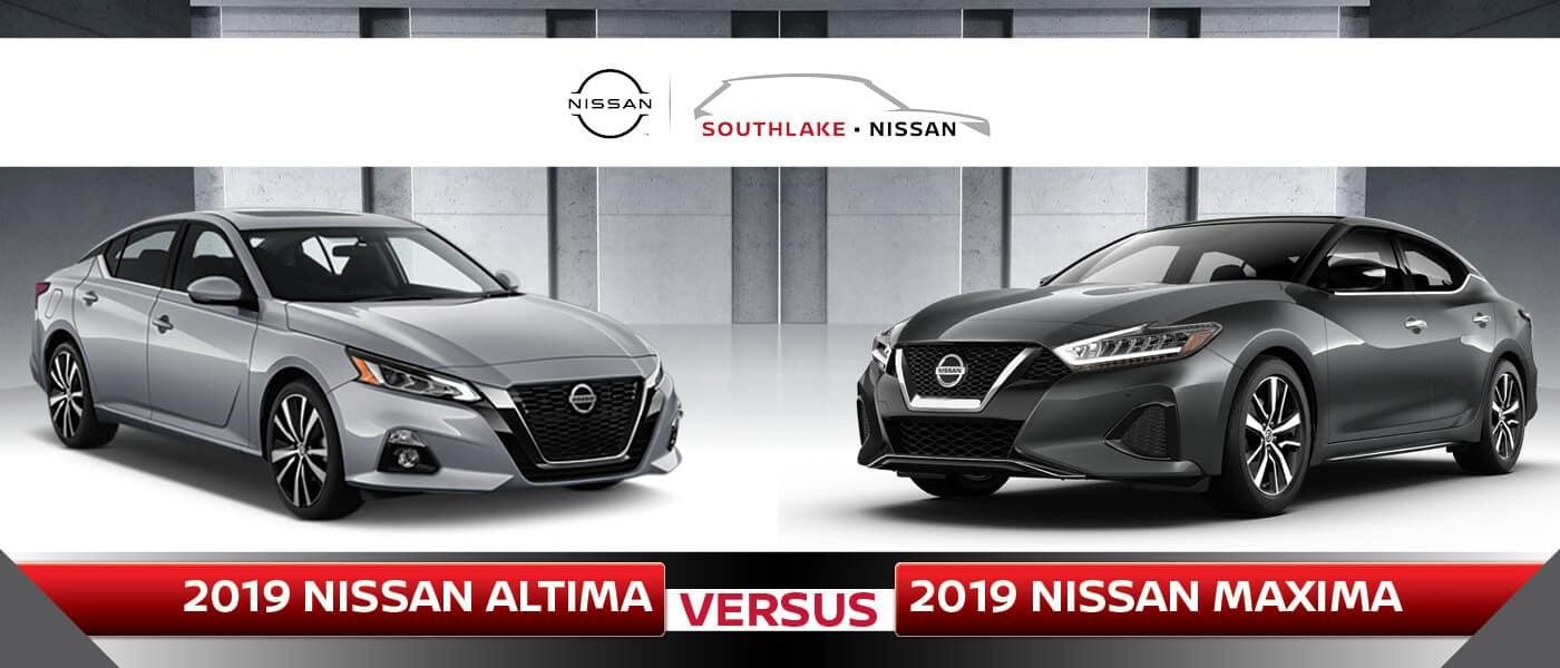 2019 Nissan Altima vs. Maxima