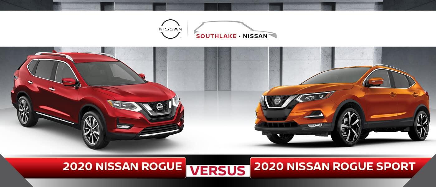Nissan Rogue vs. Rogue Sport