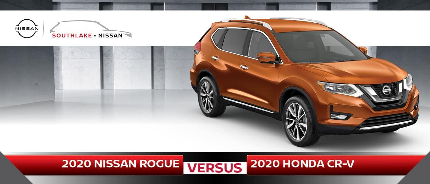 2020 Nissan Rogue vs. Honda CR-V