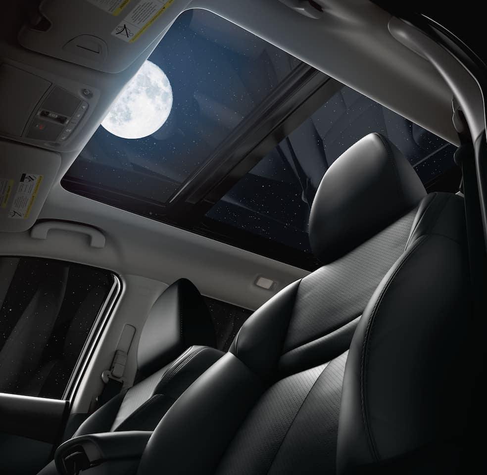 2020 Nissan Rogue moonroof