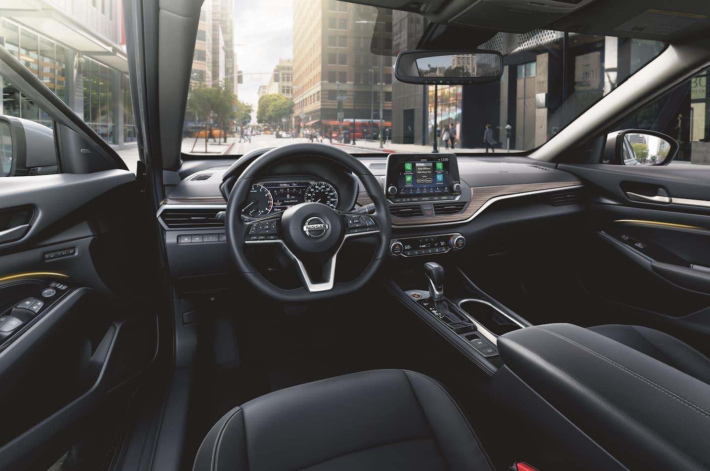 2021 Nissan Altima dashboard