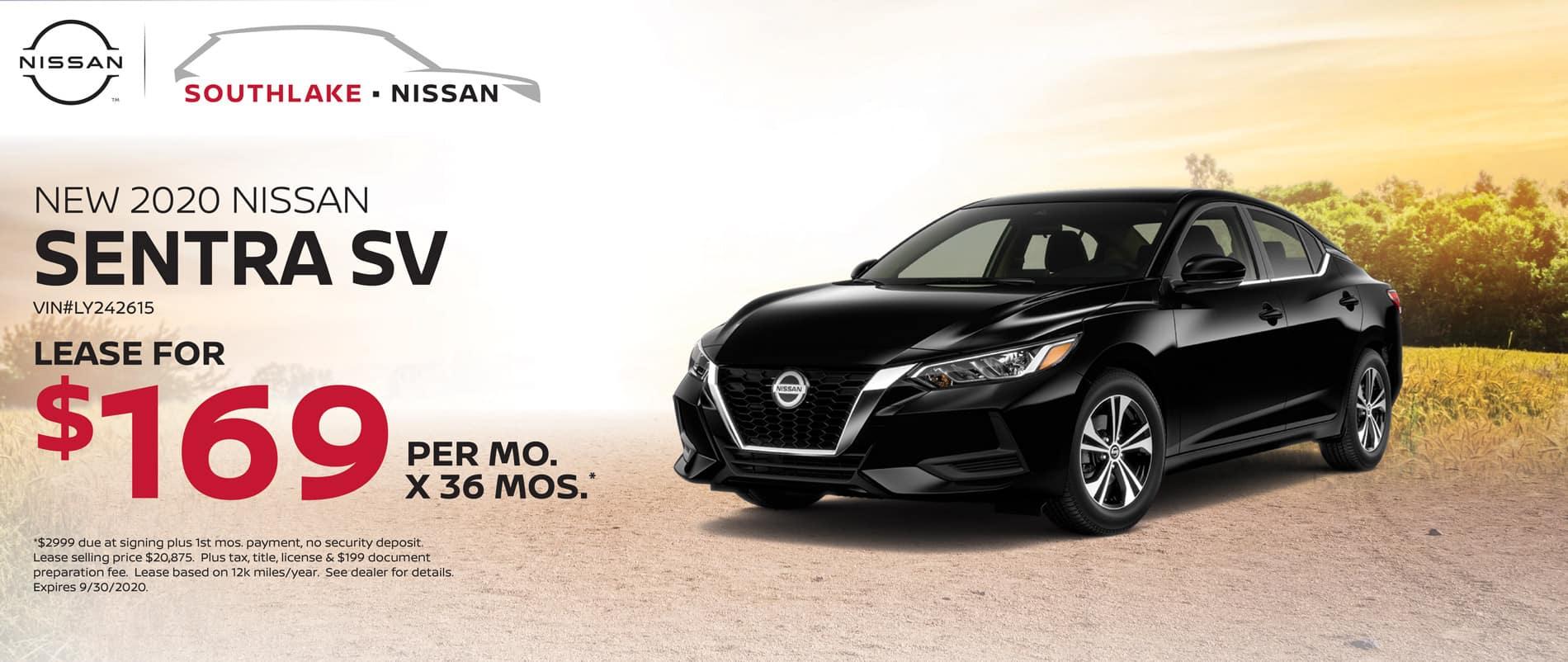 2020 Nissan Sentra Lease Offer | Merriville, IN