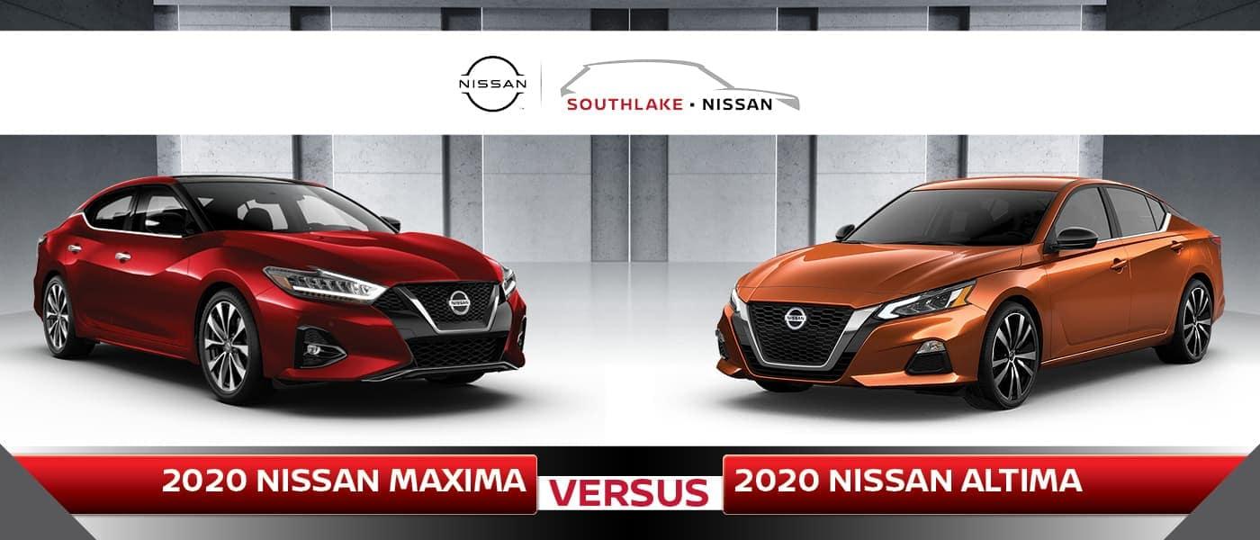 Nissan Maxima vs. Altima