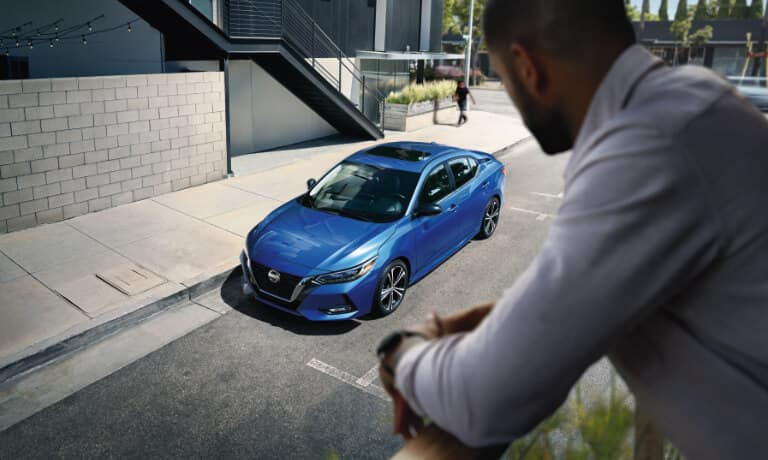 2020 Nissan Sentra parked on a street