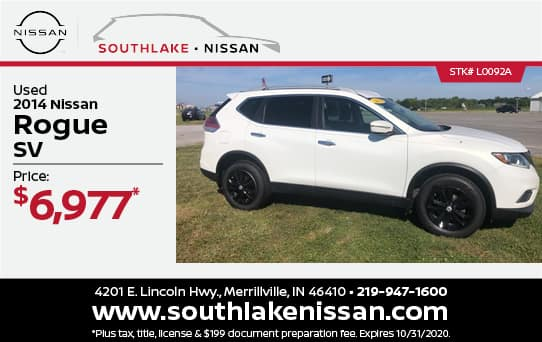 2014 Nissan Rogue Used Special | Southlake Nissan