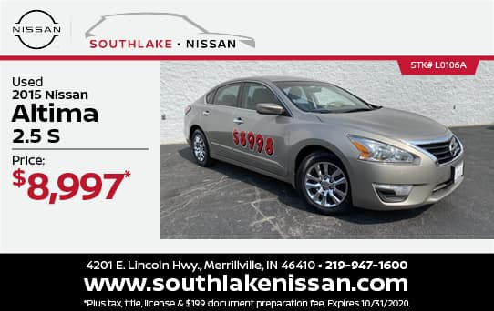 2015 Nissan Altima Used Special | Southlake Nissan