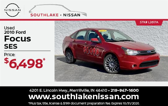 2010 Ford Focus Used Special | Southake Nissan