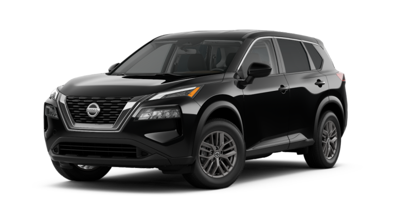 2021 Nissan Rogue S in black