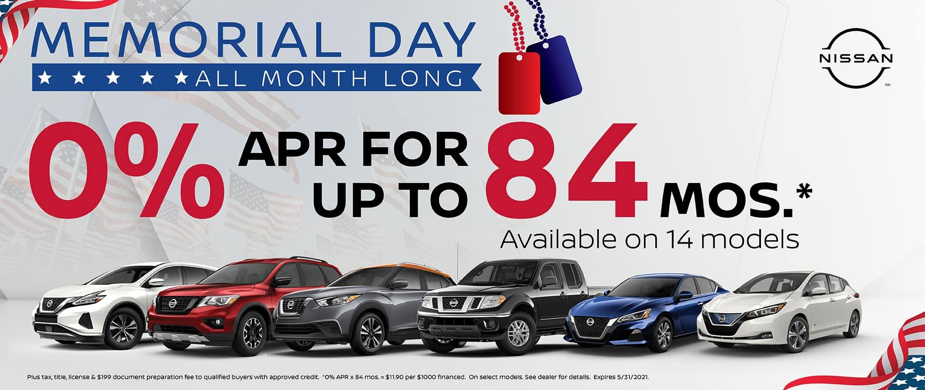 0% APR 84 Months   Southlake Nissan