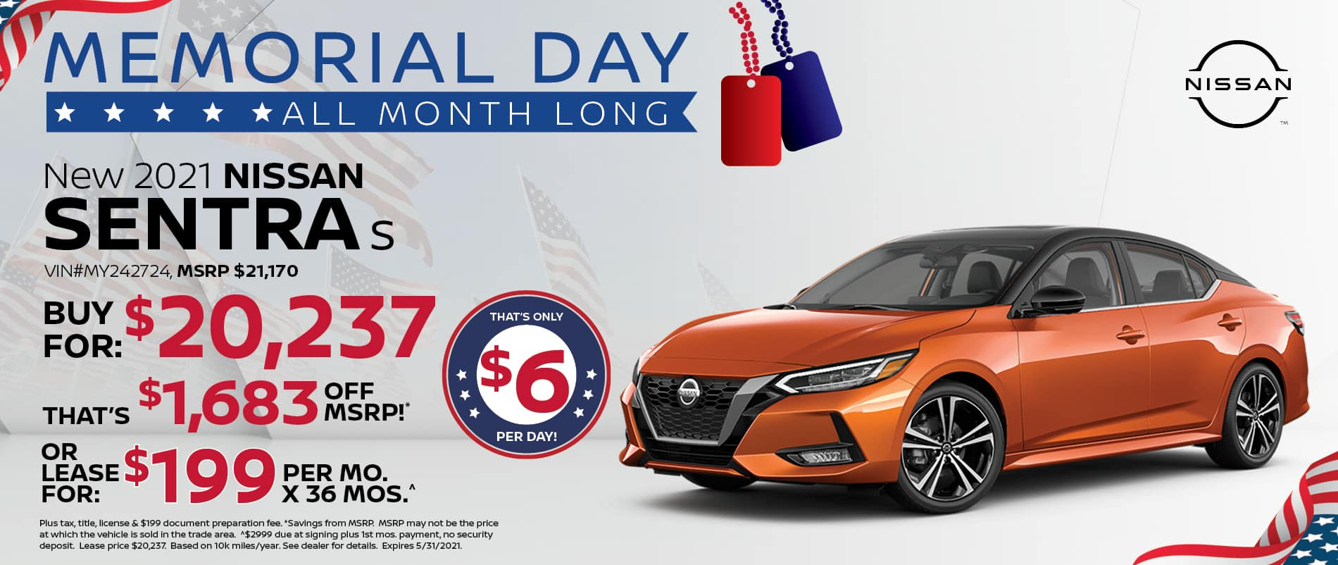 2021 Nissan Sentra Special Offer   Southlake Nissan