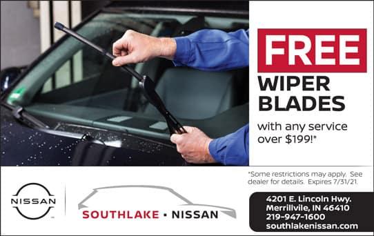Free Wiper Blades   Southlake Nissan