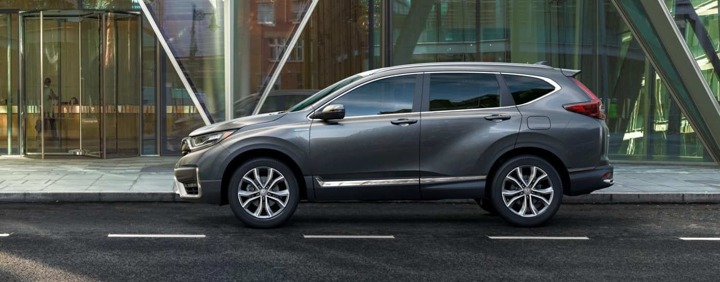 2020 Honda CR-V driving down road