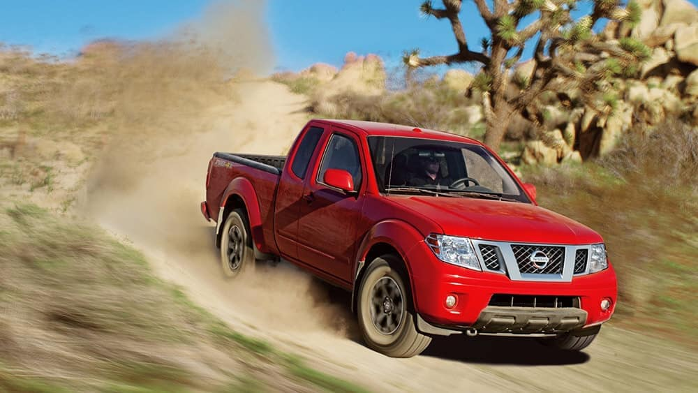 2019 Nissan Frontier Driving