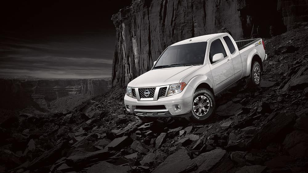 2019 Nissan Frontier Going Downhill