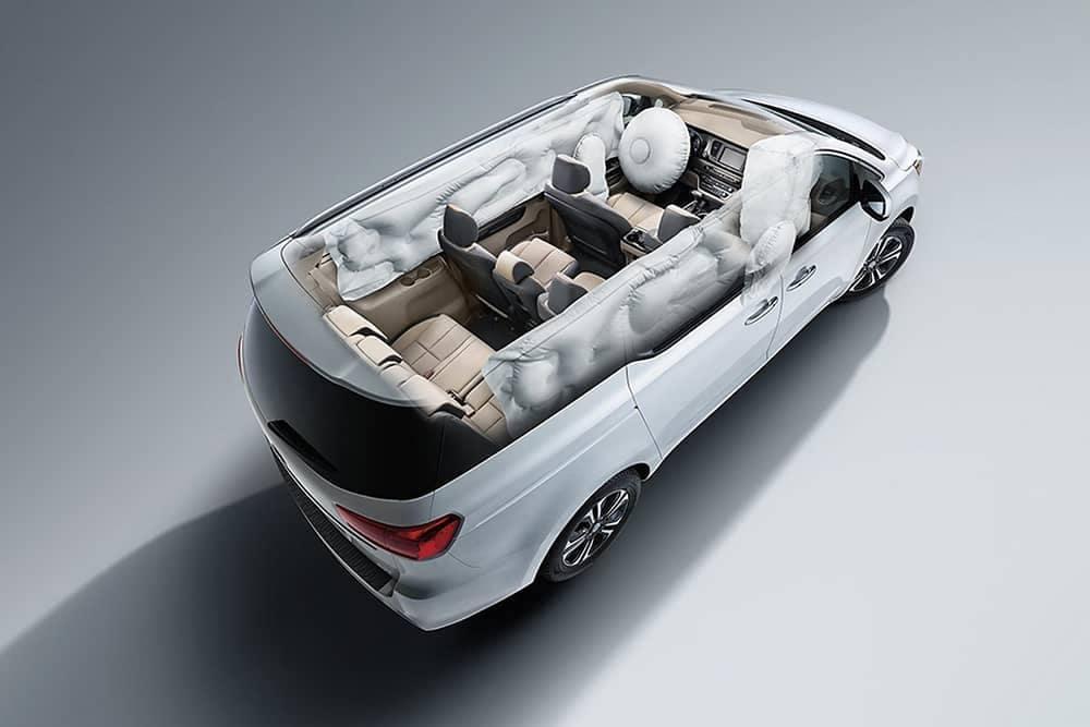 2020 Kia Sedona Airbags