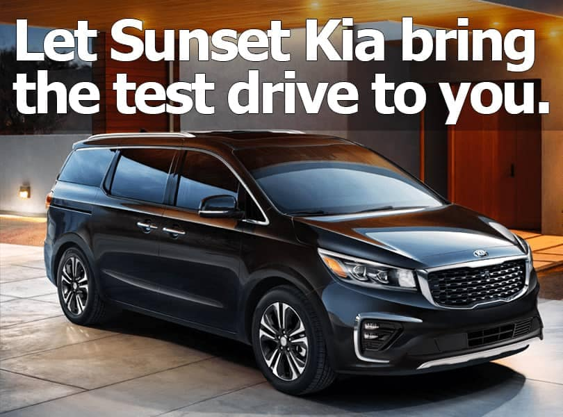 Kia at Home Test Drive