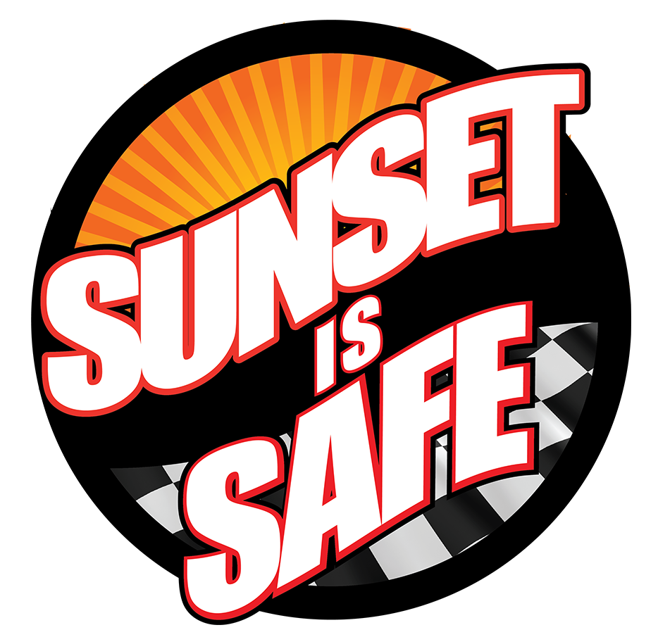 Sunset Is Safe Logo