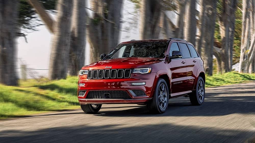 2020 Jeep Grand Cherokee Driving