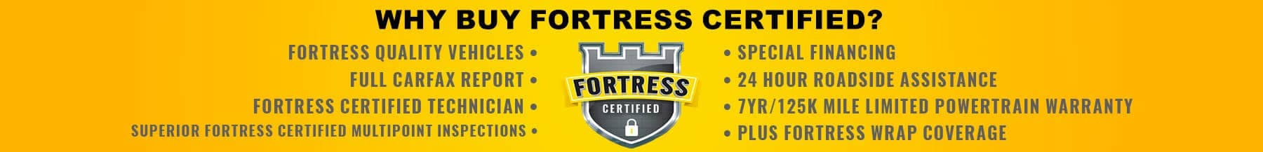 fortress certified banner