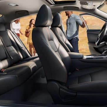2020 Nissan Sentra Seating